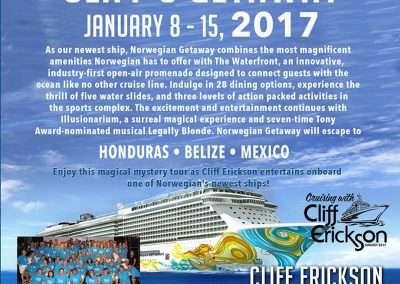 Cliff's Getaway - Norwegian Getaway Cruise