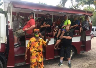 Group Tour St. Kitts - Norwegian Escape Cruise