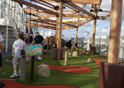 Mini Golf - Norwegian Getaway Cruise