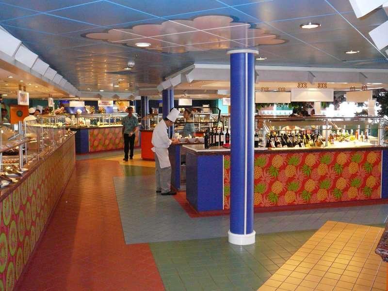 Garden Cafe Norwegian Jade Cruise Ship