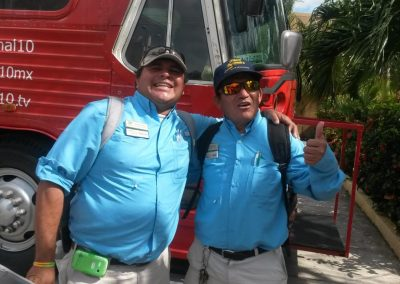Hernan and Luis - Our Cozumel Dune Buggy Tour Guides
