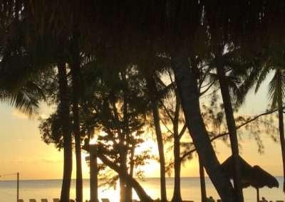Sunset in Cozumel at Iberostar Resort